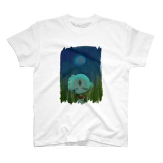 照らされない T-shirts