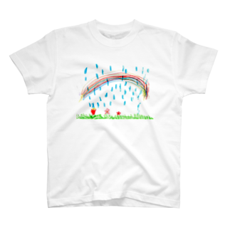 soma05の雨と虹 T-shirts