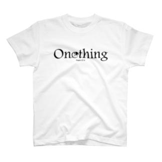 Onething(黒) T-shirts