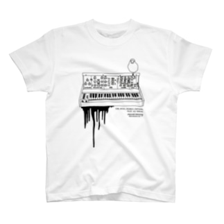 Momi Buncho Lab SHOPのMoog文鳥 T-Shirt