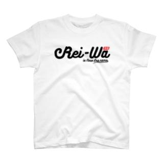 Rei-Wa「令和」typo T-shirts