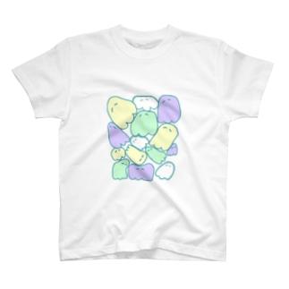 ほわほわおばけ T-shirts