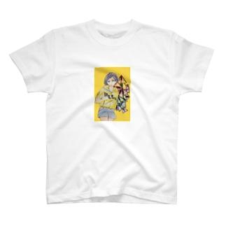 女の子イラスト T-shirts