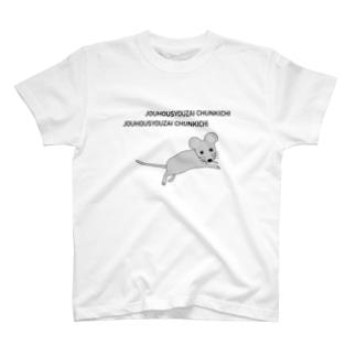JOUHOUSYOUZAI CHUNKICHI T-shirts