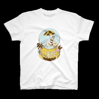 ワタナベ マリエのBeach Girl T-shirts