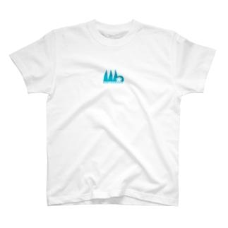 GAKUNAN116 BL T-shirts