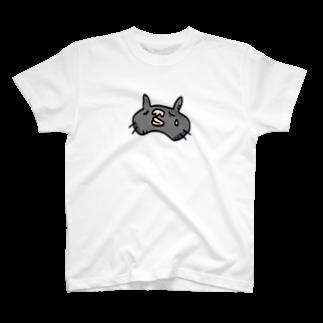 GRADUCAのくまネコニャ_悲しみ T-shirts