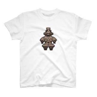 PixelArt 遮光器土偶 T-shirts