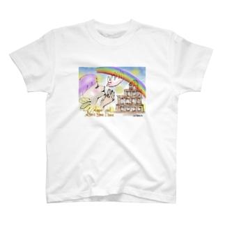 Ang15 エンジェルと原爆ドーム T-shirts