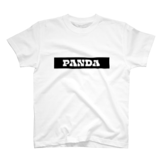 "DIOGRANDE JAPAN ""PANDA SERIES"" レプリカデザイン T-shirts"