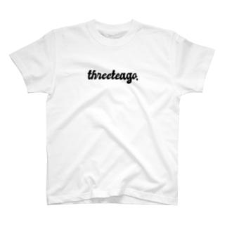 THREE TEA GO. 3rd T-shirts