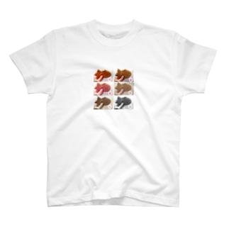おこるたいやき T-shirts
