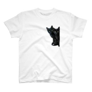 黒猫は見た T-shirts