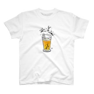 iso Brewing DesignのビアPOOL!!!! T-shirts