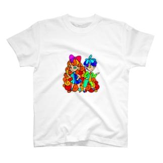 レイラちゃん&ヘンリーくん T-shirts