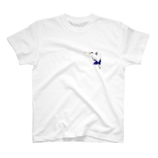 アオサギさん T-shirts