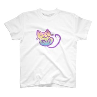 ふわニャンコ Tシャツ