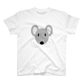 灰ネズミ T-shirts
