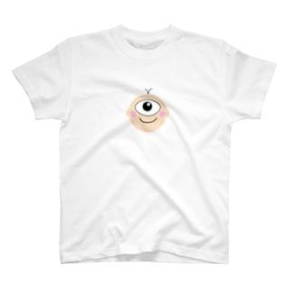 妖怪 一つ目小僧くん T-shirts