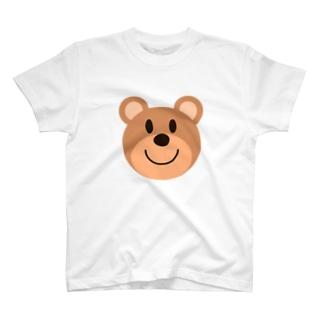 茶クマ T-shirts