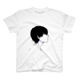 嫌惡する男 T-shirts