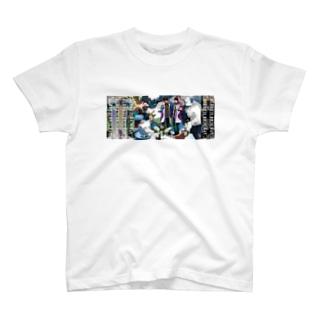 [キズコラボ]Expanding  T-shirts