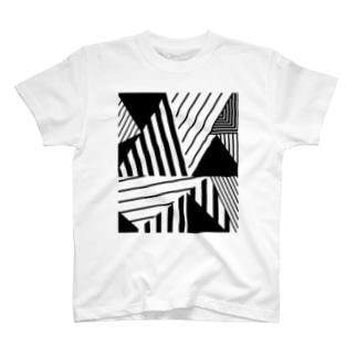 nagsatのGEOMETRICK001 T-shirts