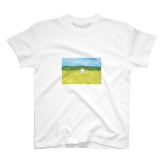 みどりと、お花と、山と、 T-shirts