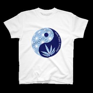 Legalize It ! のHoly plant - Blue T-shirts