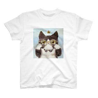 メガネの八われちゃん T-shirts