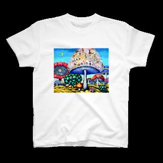 A・T   shopのparallel world No.24 -偉大なる挑戦- T-shirts