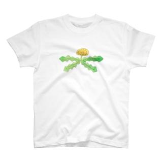 たんぽぽぽ T-shirts