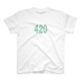 420/大麻Tシャツ T-shirts