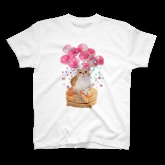 いくらとさーもんの飴ちゃんいっぱいハニ T-shirts
