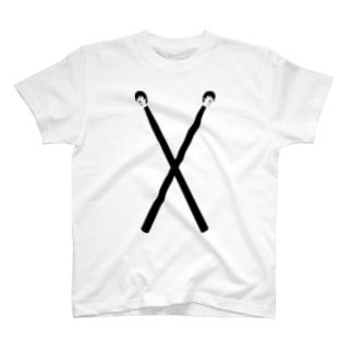 みきひとくんTシャツ(ドラムスティック①) T-shirts