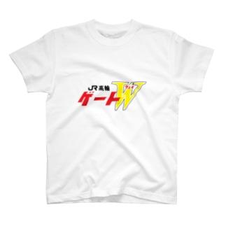 高輪ゲートWロゴT T-shirts
