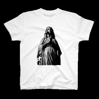 HIDETALONのマリア T-shirts