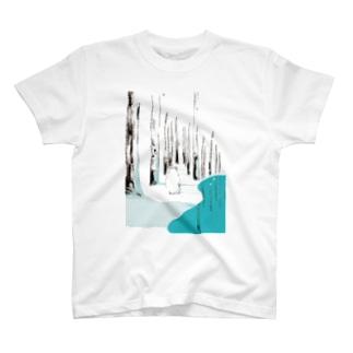 青の池 T-shirts