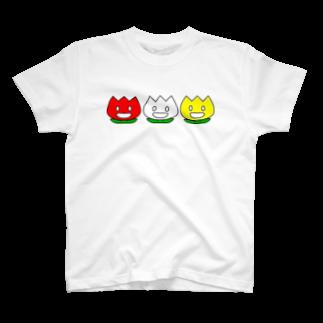 Swing-Neck-Breakerのニコチューリップ T-shirts