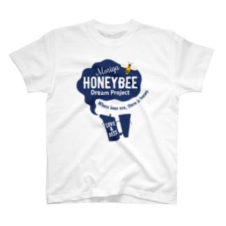 ミツバチプロジェクト・紺B T-shirts