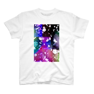 クラゲコラージュ T-shirts