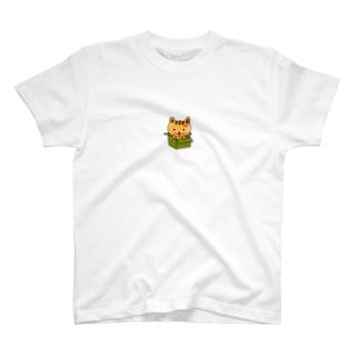 テカリ猫・怒り猫バージョン T-shirts