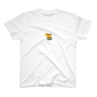 テカリ猫・日光浴バージョン T-shirts