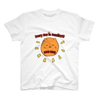 毎日が日曜日 T-shirts