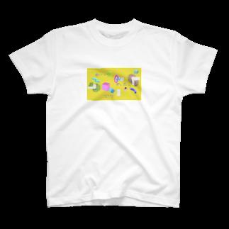 よしだはスーパーサブの3D黄 T-shirts
