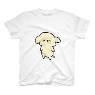 コアラ犬 ニコニコ T-shirts