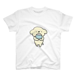 コアラ犬 ごはん T-shirts