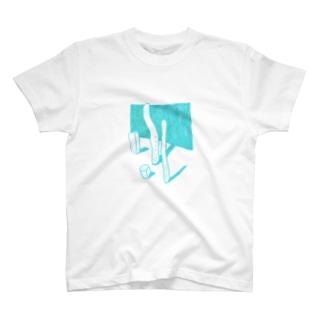 にょろの静物 T-shirts