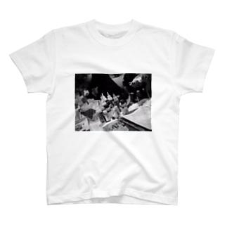 ライブペイント T-shirts