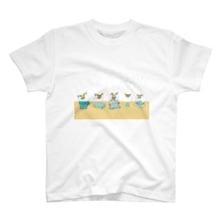5つ子誕生日 T-shirts